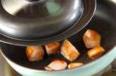 鮭のユズコショウ風味炒めの作り方7