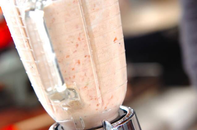 真っ赤なトマトのジュースの作り方の手順3