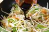 モヤシのソース卵とじの作り方の手順6