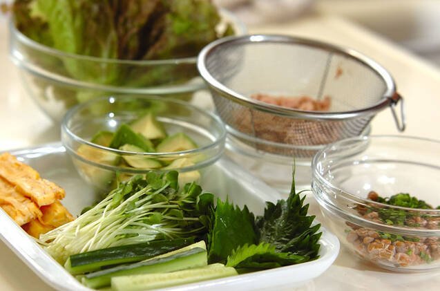 色々手巻き寿司の作り方の手順3