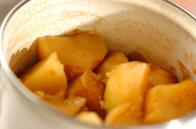 ジャガイモの甘煮の作り方の手順4