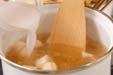 とろとろかき玉汁の作り方1