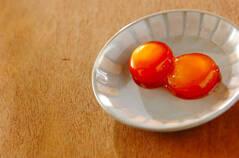 卵黄のしょうゆ漬け