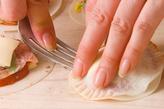 ピザ風揚げ餃子の作り方3