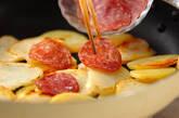ジャガとサラミの炒め物の作り方4