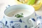 ナスと豆腐のスープ