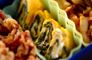 韓国のり卵焼き