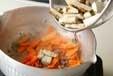 タタキゴボウの炒め煮の作り方1