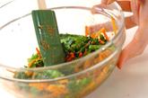 菜の花のゴマ和えの作り方1