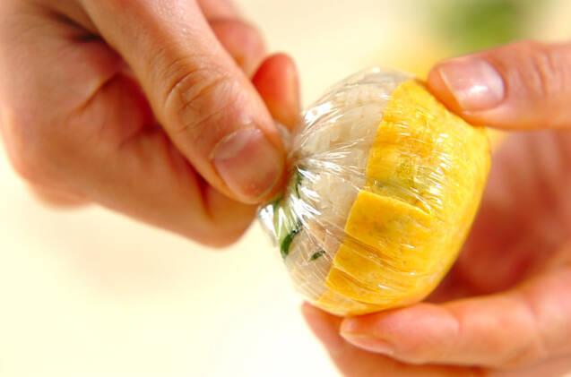 ヒヨコちゃん手まり寿司の作り方の手順6