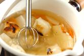 焼き餅のトロトロ白みそ汁の作り方2