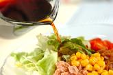 簡単サラダうどんの作り方1