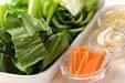 チンゲンサイの塩炒めの作り方の手順1