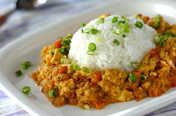 カロリーオフ豆腐ドライカレー