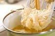 油揚げとエノキのみそ汁の作り方4