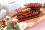 紅茶のチョコサンドクッキー