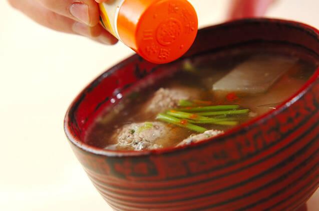 ふんわりイワシのつみれ汁の作り方の手順8