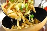 春キャベツとジャガイモのパスタの作り方4