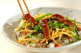ウナギ蒲焼き入り五目散らし寿司の作り方4