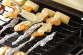 エビとネギの串焼きの作り方2