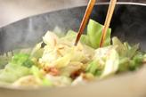キャベツと卵の炒め物の作り方1
