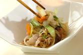 豚肉とたっぷり野菜の炒め物の作り方2