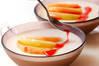 ちょっぴりオトナな桃のふるふるムースの作り方の手順8
