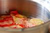 ちょっぴりオトナな桃のふるふるムースの作り方の手順7