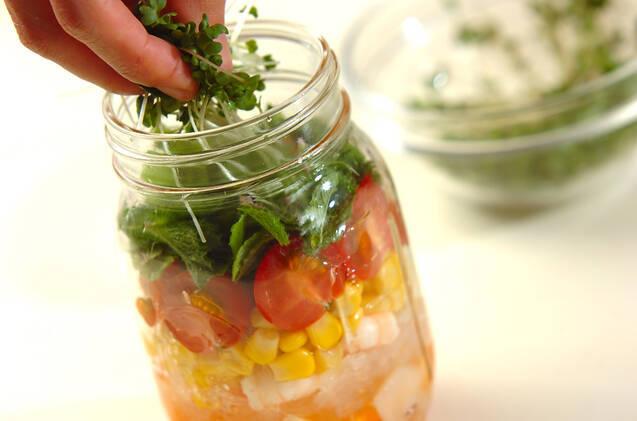 エビと春雨のエスニックジャーサラダの作り方の手順6