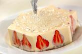 ホワイトクリスマスケーキの作り方11