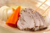 ピリ辛ソース添えゆで豚の作り方3