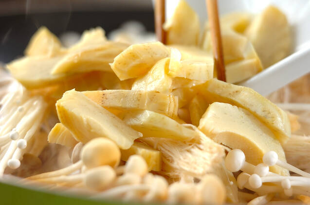 キノコのタリアテッレの作り方の手順10