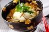 湯葉と豆腐の丼の作り方の手順