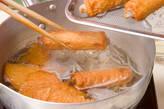 ごぼ天と青菜の煮物の作り方4