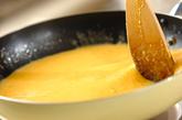 トロトロ卵のショートパスタの作り方1