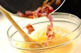 トロトロ卵のショートパスタの作り方3