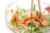 切干し大根のゴマ酢の作り方の手順4