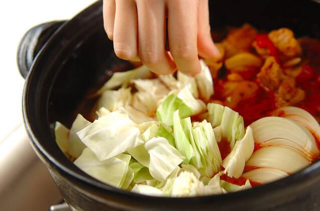 トマトカレー鍋の作り方の手順7
