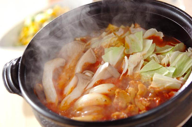 4.トマトカレー鍋