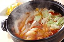トマトカレー鍋
