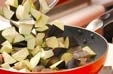 ナスのバジル炒めの作り方1