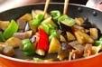 ナスのバジル炒めの作り方2