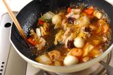 中華丼の作り方3