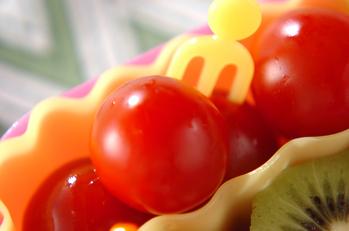 プチトマトの甘酢