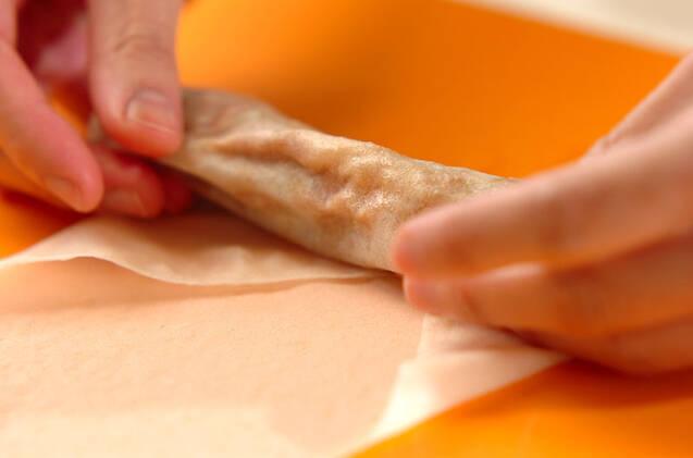 残り物カレーのモヤシ春巻きの作り方の手順5