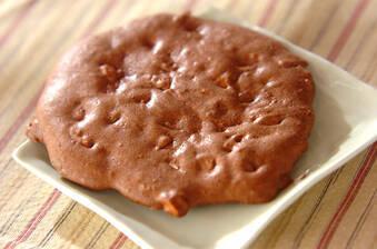 大きなココアクッキー
