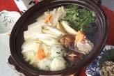 団子入り鶏水炊き