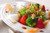 イチゴのサラダの作り方の手順