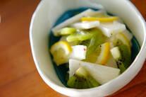 長芋とキウイの和え物