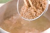 そば米とろろ汁の作り方1